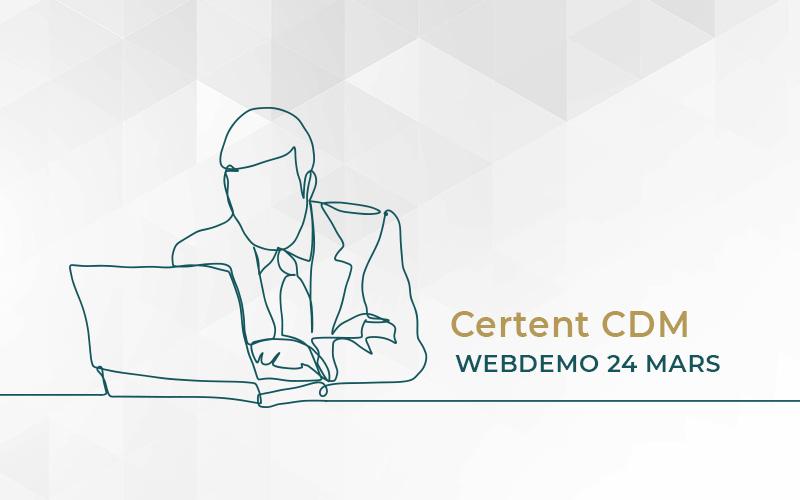 Certent CDM är en marknadsledande programvara som hjälper till att automatisera texttunga rapporter såsom årsredovisning, kvartalsrapporten, ledningsrapporten