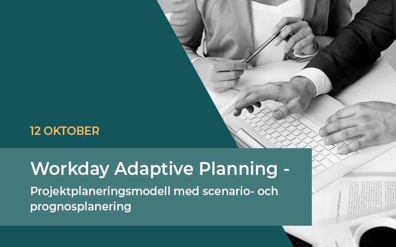 Projektplaneringsmodell med scenario- och prognosplanering. Adaptive Planning är ett marknadsledande system för ekonomisk planering.
